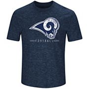 Men's Majestic Los Angeles Rams Hyper Stack Tee