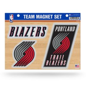 Portland Trail Blazers Team Magnet Set