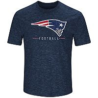 Men's Majestic New England Patriots Hyper Stack Tee