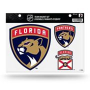 Florida Panthers Team Magnet Set