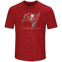 Men's Majestic Tampa Bay Buccaneers Hyper Stack Tee