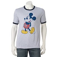 Men's Mickey Mouse Ringer Tee