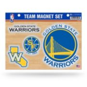 Golden State Warriors Team Magnet Set