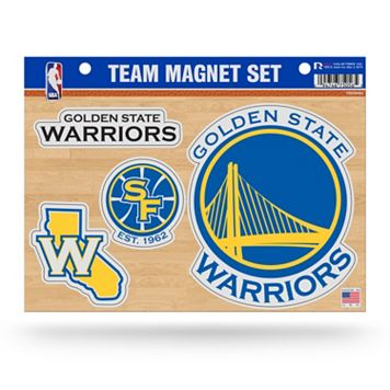 Golden State Warriors Team Magnet Set