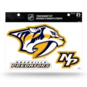 Nashville Predators Team Magnet Set