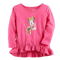 Disney's Minnie Mouse Baby Girl 'Little Dreamer' Graphic Long-Sleeve Tunic by Jumping Beans®