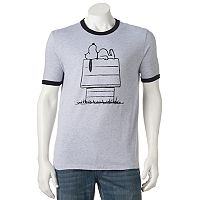 Men's Peanuts Snoopy Dog House Tee