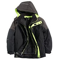 Boys 8-20 ZeroXposur Burst 3-in-1 Systems Jacket