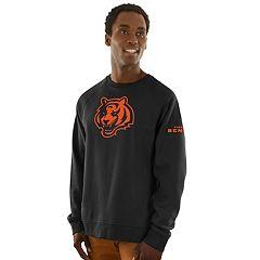 Men's Majestic Cincinnati Bengals Classic Crew Sweatshirt