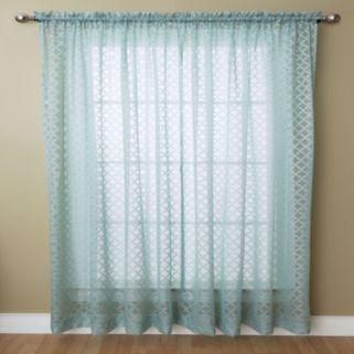 Miller Curtains Glenbrook Sheer Window Curtain