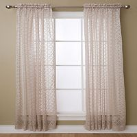 Miller Curtains Glenbrook Sheer Window Curtain