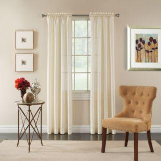 Miller Curtains Pippa Sheer Textured Window Curtain