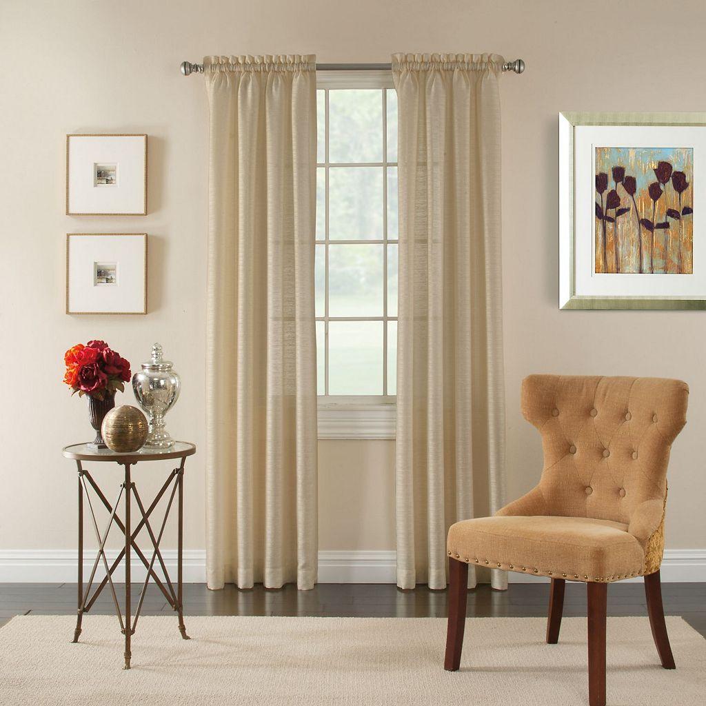 Miller Curtains Pippa Sheer Textured Curtain