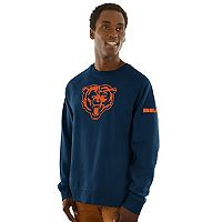 Men's Majestic Chicago Bears Classic Crew Sweatshirt