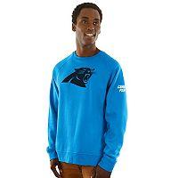 Men's Majestic Carolina Panthers Classic Crew Sweatshirt
