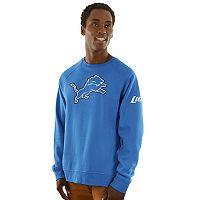 Men's Majestic Detroit Lions Classic Crew Sweatshirt