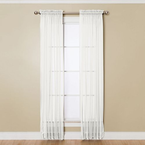 Miller Curtains Solunar Sheer Window Curtain