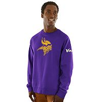 Men's Majestic Minnesota Vikings Classic Crew Sweatshirt