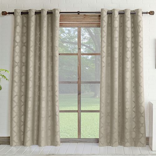 Miller Curtains 1 Panel Estate Energy Efficient Window Curtain