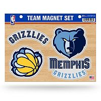 Memphis Grizzlies Team Magnet Set