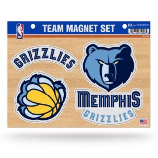 Memphis Grizzlies Team Magnet Set