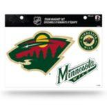 Minnesota Wild Team Magnet Set