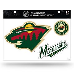 Minnesota Wild Team Magnet Set