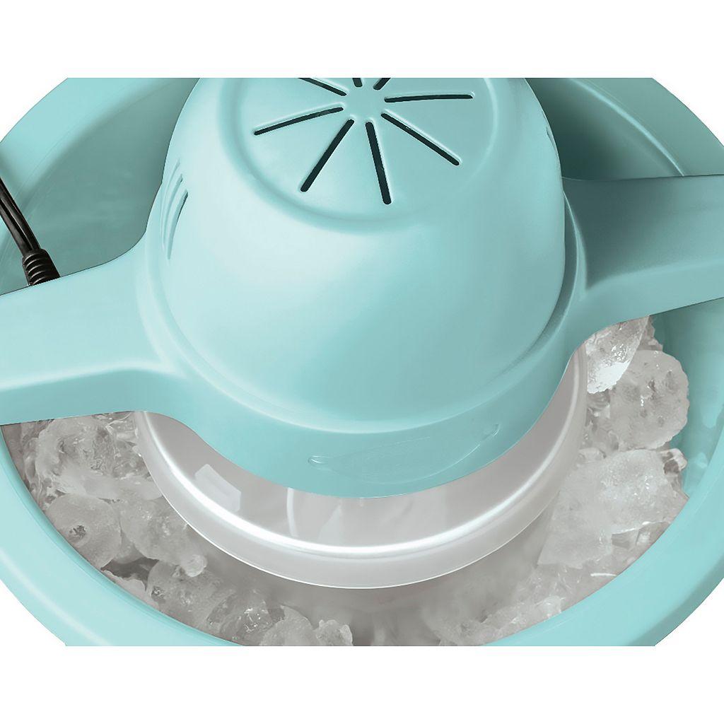 Nostalgia Electrics 4-qt. White Wood Ice Cream Maker