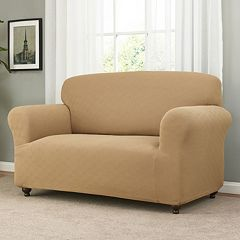 Madison Checkerboard Loveseat Slipcover