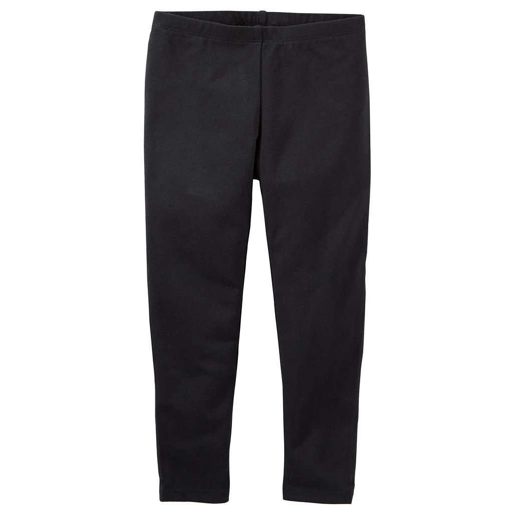 Girls 4-12 OshKosh B'gosh® Black Full-Length Leggings