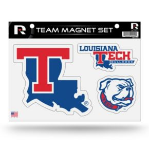 Louisiana Tech Bulldogs Team Magnet Set