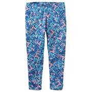 Girls 4-12 OshKosh B'gosh® Floral Full-Length Leggings