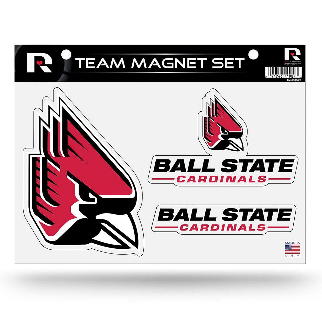 Ball State Cardinals Team Magnet Set