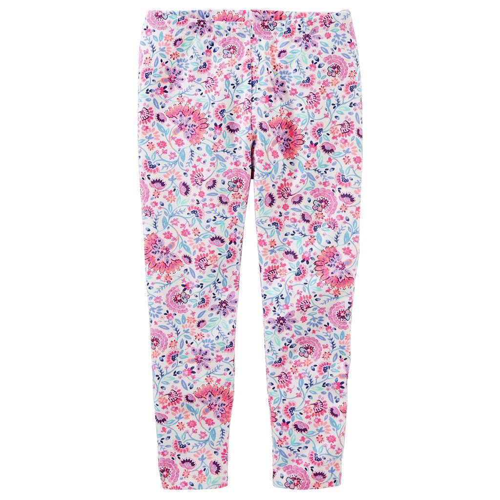 Girls 4-12 OshKosh B'gosh® Floral Leggings