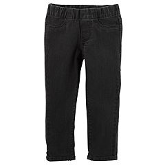 Girls 4-12 OshKosh B'gosh® Solid Black Jeggings