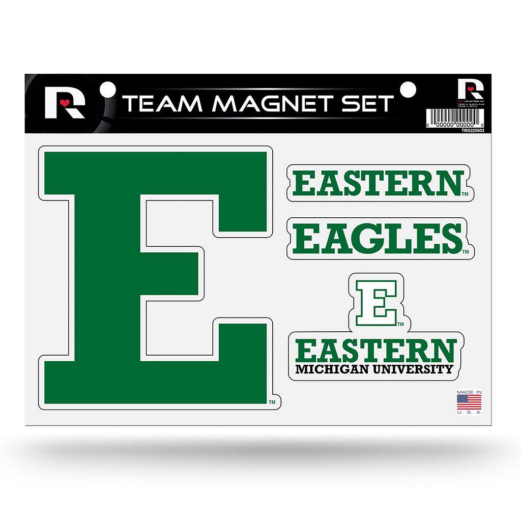 Eastern Michigan Eagles Team Magnet Set