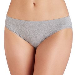 Juniors' Saint Eve Geo Trim Bikini Panty 5161024