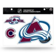 Colorado Avalanche Team Magnet Set