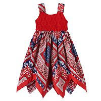 Baby Girl Blueberi Boulevard Bandana Crochet Dress