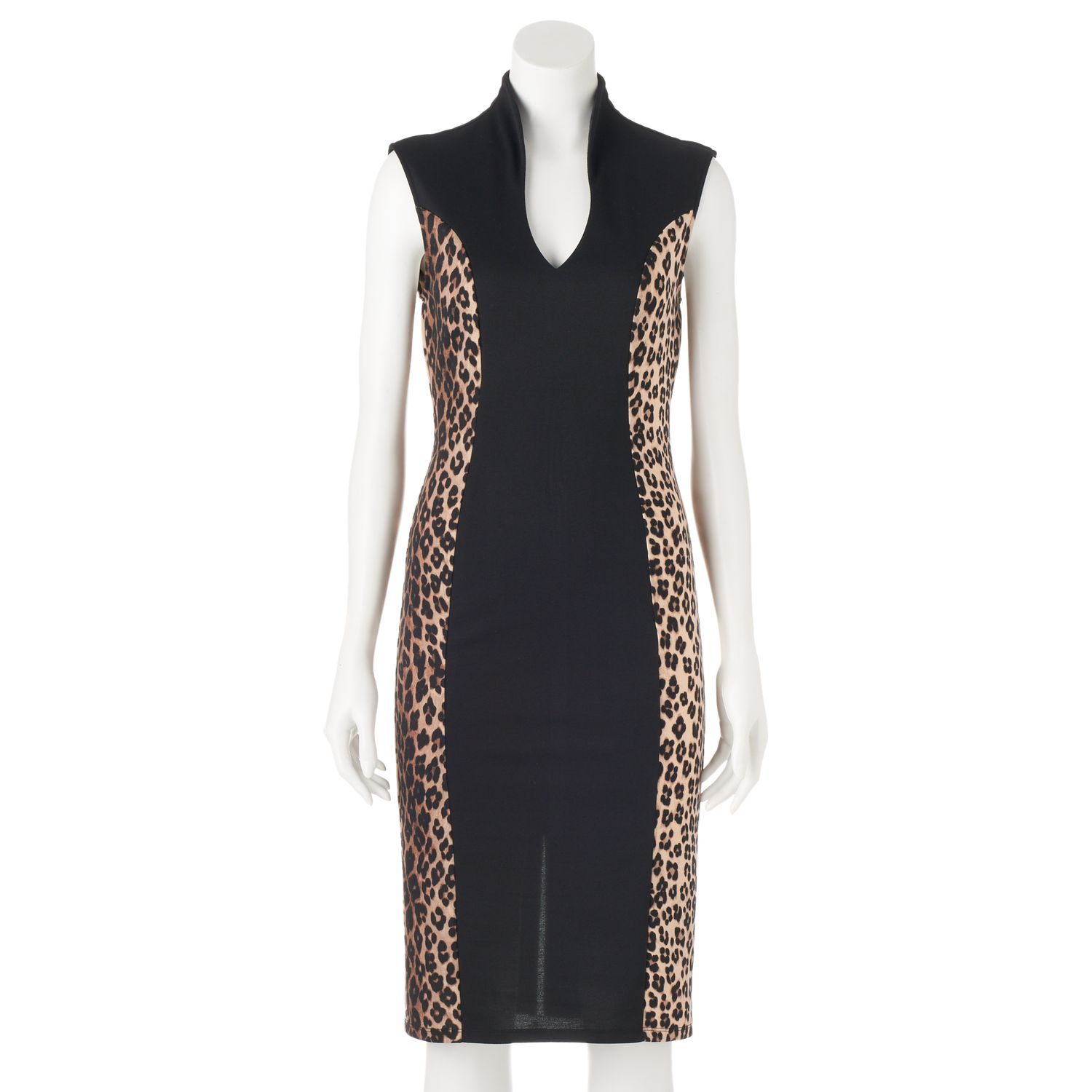 Cheetah b blue dress stain