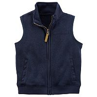 Toddler Boy Carter's Zip-Up Vest