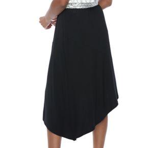 Women's Apt. 9® Asymmetrical Mix-Print Skirt