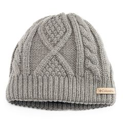 Women's Columbia Cable-Knit Ribbed Beanie