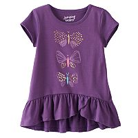 Toddler Girl Jumping Beans® Graphic Short-Sleeve Ruffled-Hem Tunic