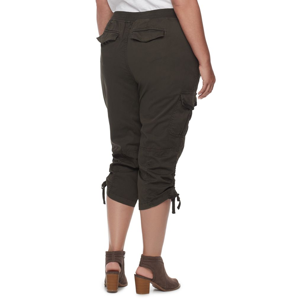 Plus Size SONOMA Goods for Life™ Drawstring Capris