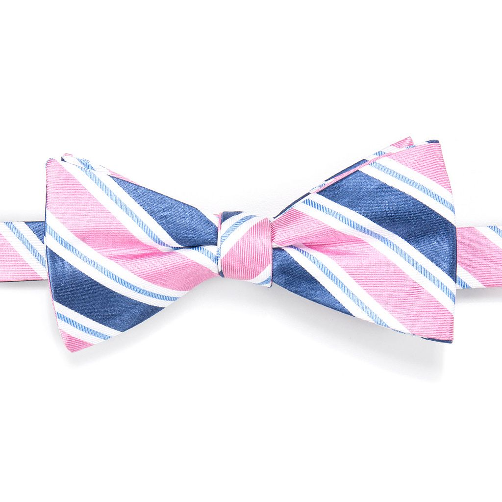 Men's Croft & Barrow® Dexter Striped Self-Tie Bow Tie