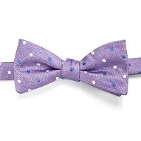 Men's Croft & Barrow® Patterned Pre-Tied Bow Tie