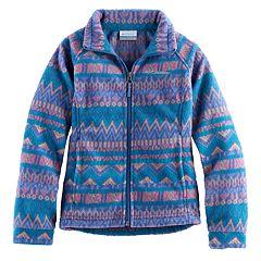 Girls 4-16 Columbia Midweight Printed Fleece Jacket