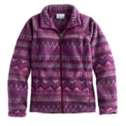 Girls 4-16 Columbia Midweight Printed Fleece Jacket