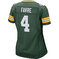Women's Nike Green Bay Packers Brett Favre Replica Jersey
